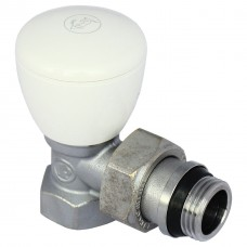 Кран для радіатора кутовий Giacomini R5x033 1/2 (подача)