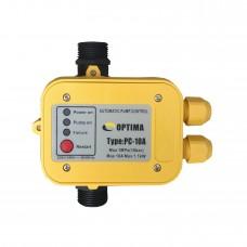 Реле захисту сухого ходу насосу Optima PC10A з автоматичним перезапуском