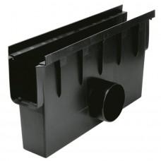 Дощоприймач (Пісковловлювач) пластиковий для системи каналів 1000мм/148мм (арт.01742)