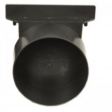 Заглушка каналу стічного системи 1000/98 з відводом під каналізаційну трубу 110мм (Арт.1819)