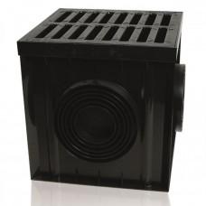 Дощоприймач 300x300 з чавунною решіткою В125 (Арт.01881)