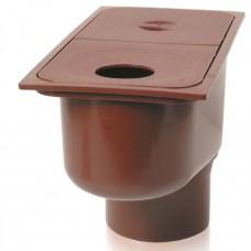 Дощоприймач для ринв 300х160х110 коричневий (арт.01821)