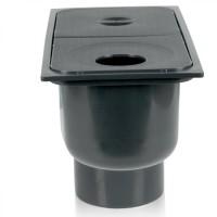 Дощоприймач для ринв 300х160х210 графітовий (арт.01827)