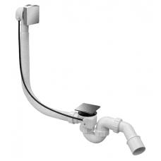 Сифон ванна McAlpine автомат HС31SQ-CBS1-1М 40/50 квадратквадратний хром