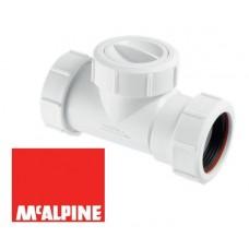 Зворотній клапан каналізаційний 40 мм McAlpine T28M-NRV-40