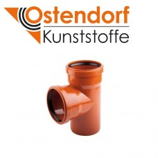 Трійник для зовнішньої каналізації 110х110х90 Ostendorf