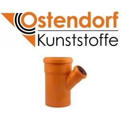 Трійник для зовнішньої каналізації 160х110х45 Ostendorf
