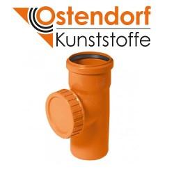 Ревізія для зовнішньої каналізації ПВХ 110 мм OSTENDORF