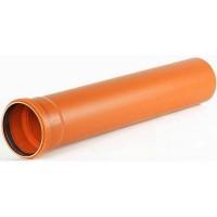 Труба каналізаційна 315х1000 мм ПВХ Valrom